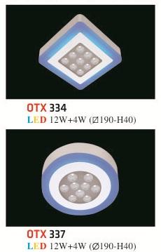 Đèn Mâm Nổi Phẳng Hufa OTX 12W