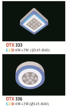 Đèn Mâm Nổi Phẳng Hufa OTX 6W