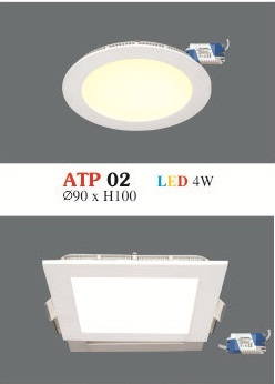 Đèn Led Siêu Mỏng Hufa 4W