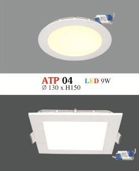 Đèn Led Siêu Mỏng Hufa ATP 04 9W  Ø150 x H15